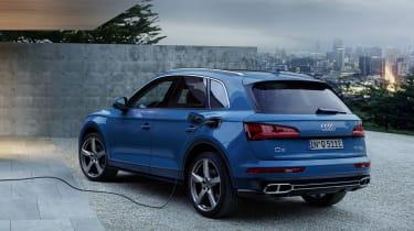 Audi Q5 charge