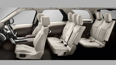 Land Rover Discovery 2017 - official seat configuration