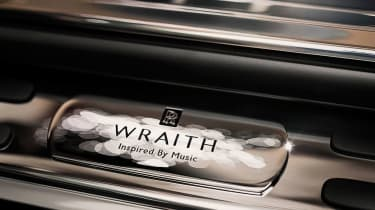 Rolls-Royce Wraith 'Inspired By Music' badge