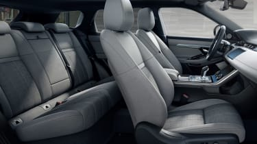 New 2019 Range Rover Evoque seats