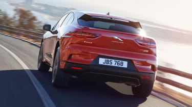 Jaguar I-Pace - rear action