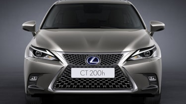 2018 Lexus CT facelift front