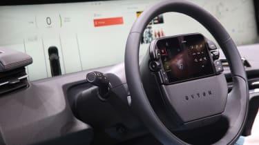 Byton M-Byte - Frankfurt steering wheel