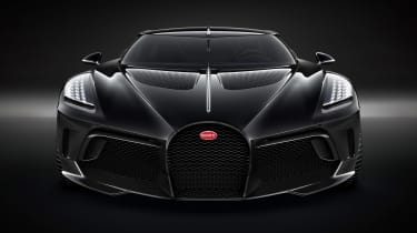 Bugatti La Voiture Noire - full front