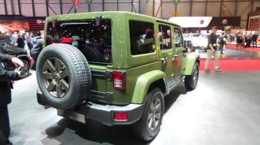 Jeep 75th Anniversary Geneva - Wrangler rear three quarter