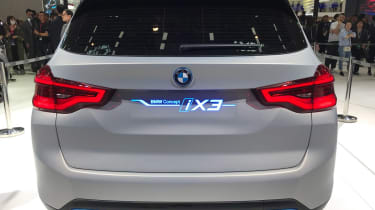 BMW iX3 - Beijing full rear