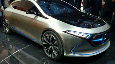 Mercedes EQA concept - Frankfurt front/side