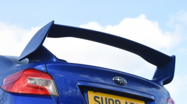 Subaru WRX STi Final Edition - spoiler