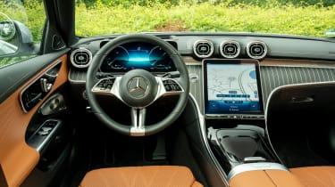 Mercedes C-Class Estate - interior
