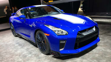 Nissan GT-R 50th Anniversary Edition - New York front