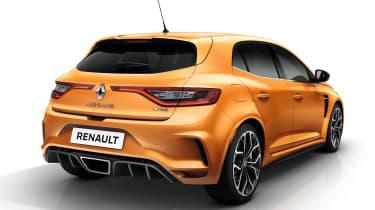 Renault Megane RS - studio rear static