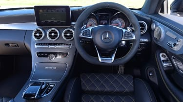 Mercedes-AMG C 63 S Coupe Edition 1 - interior