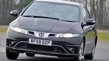 On the road, strong performance and fun handling set Civic apart