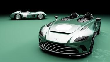 Aston Martin V12 Speedster DBR1 and Aston Martin DBR1