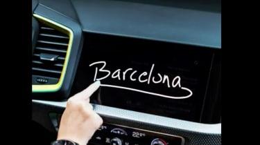 2018 Audi A1 interior teaser