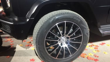 New Mercedes G-Class revealed - wheel