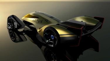 Lotus E-R9 - rear