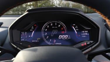Lamborghini Huracan Evo Spyder - dials