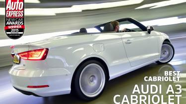Audi A3 Cabriolet - awards