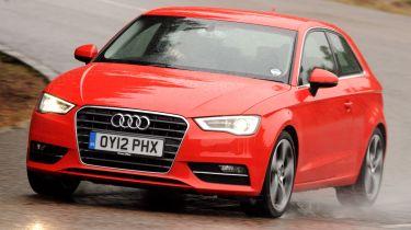 Audi A3 front cornering
