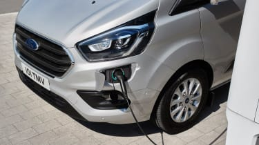 Ford Transit Custom PHEV - Charging