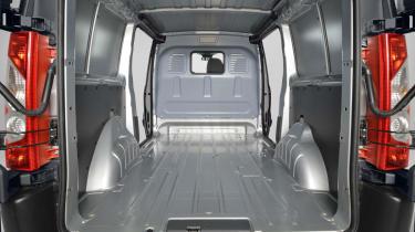Choosing options for your van