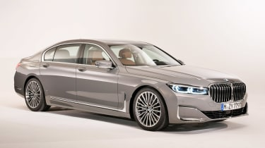 BMW 7 Series facelift - front
