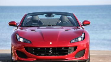 Ferrari Portofino - full front static roof open
