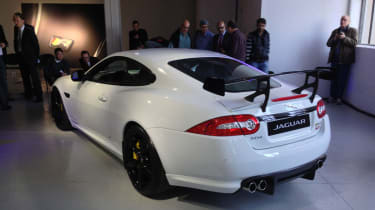 Jaguar XKR-S GT spoiler