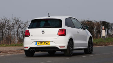 VW Polo GTI 2015 rear