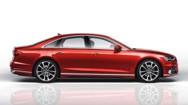 New Audi A8 - side
