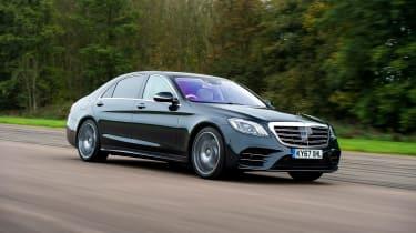 Mercedes S-Class - front action