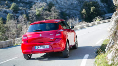 New Suzuki Swift 2017 - rear cornering
