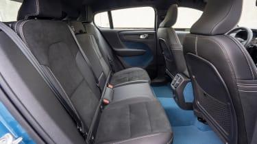 Volvo C40 Recharge - rear seats