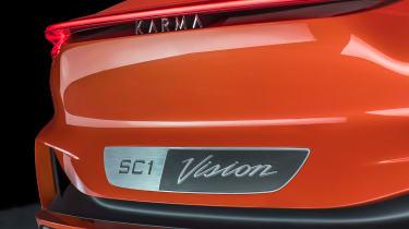 Karma SC1 Vision concept - rear detail