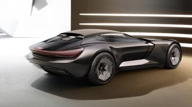 Audi skysphere concept - studio rear