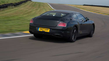 2017 Bentley Continental GT review - rear