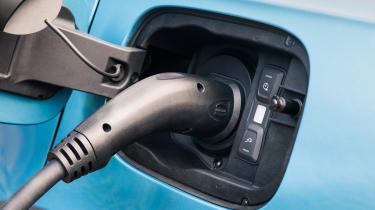 Bentley Bentayga Hybrid - charging port