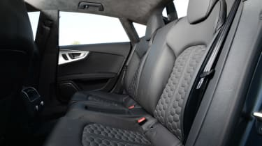Audi RS7 Sportback rear seats