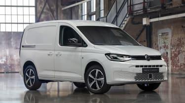 2020 Volkswagen Caddy - front white