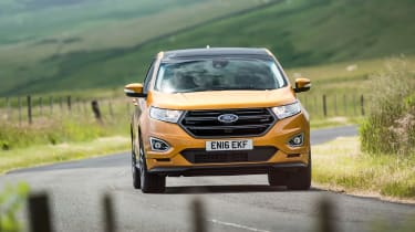 Ford Edge Sport - front cornering