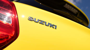 Suzuki Swift Sport - Suzuki badge