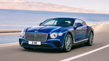 New Bentley Continental - front