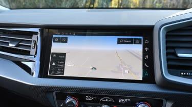 Audi A1 Citycarver - sat-nav