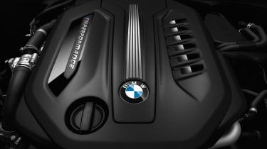 BMW M550d xDrive - engine