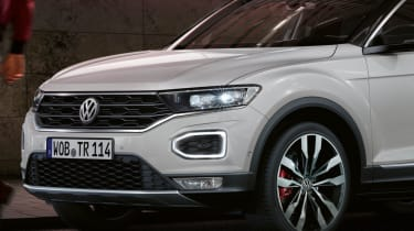 Volkswagen T-Roc design secrets revealed (sponsored) - front quarter