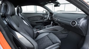 Audi TT S - cabin