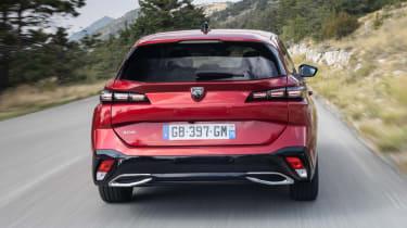 Peugeot 308 SW - full rear