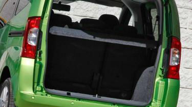Fiat Qubo boot