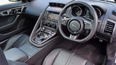 Used Jaguar F-Type - dash